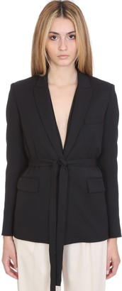 IRO Better Jacket In Black Wool
