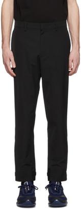 Prada Black Techno Trousers