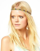 Deepa Gurnani Diamond Neon Headband