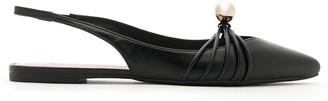 Schutz S2057901030001 BLACK Artificial->Artificial Leather