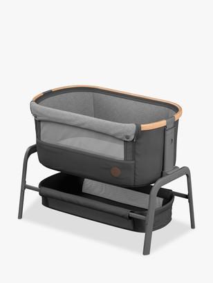 Maxi-Cosi Iora Co-Sleeper Bedside Crib, Essential Graphite