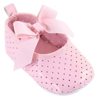Luvable Friends Baby Girl Perforated Mary Jane