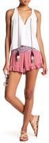 Romeo & Juliet Couture Ruffled Embroidered Short