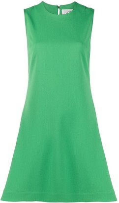 Victoria Victoria Beckham Round Neck Midi Dress