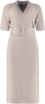Agnona Ribbed Knit Dress