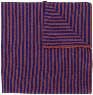 Danielapi Striped Print Scarf