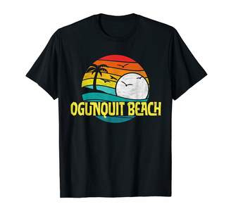 Surf Dawg New York & New England Beach Threads Retro Ogunquit Beach Sun & Surf Eighties Graphic T-Shirt