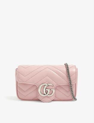 Gucci GG Marmont Super Mini leather cross-body