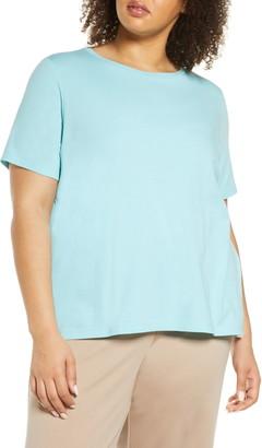 Eileen Fisher Organic Linen Blend T-Shirt