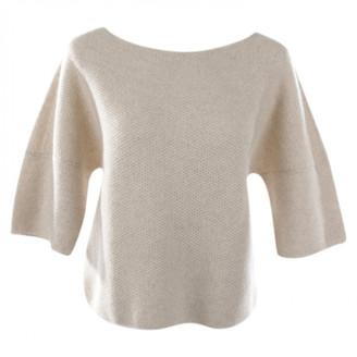 Loro Piana White Cashmere Knitwear