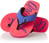 Animal Swish Logo Girls Flip Flops