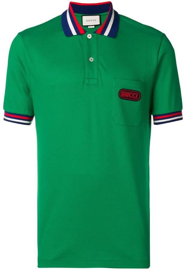 2197f3899fe Gucci Patch Pocket Shirt - ShopStyle