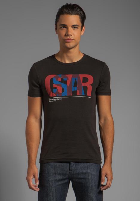 G Star G-Star Halo R T Short Sleeve Tee