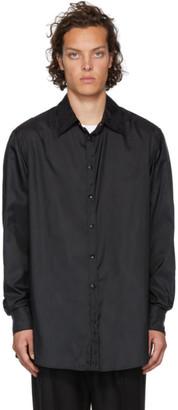 Valentino Black Semi-Oversized Shirt