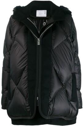 Sacai Layered Padded Coat
