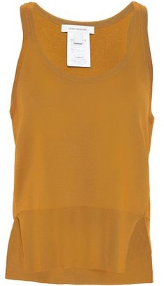 Cédric Charlier Paneled Knitted Tank