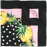Dolce & Gabbana pineapple print neck scarf