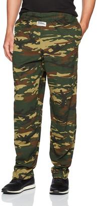 Zubaz Men's Camo Printed Athletic Lounge Pants