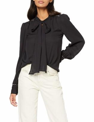 Only Women's Onlopal L/s Shirt WVN Blouse