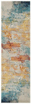 Nourison Celestial Contemporary Area Rug, Sealife, 2'x6' Runner
