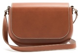 A.P.C. James leather cross-body bag