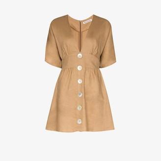 Reformation Ty linen dress