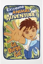 Baby Boom Go Diego Adventure Coral Plush Blanket
