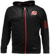 Majestic Men's New Jersey Devils Ready For Action Full-Zip Hoodie