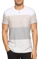 Calvin Klein Jeans Colorblocked Henley Tee