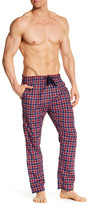 Bottoms Out Plaid Woven Lounge Pant