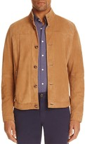 Michael Kors Suede Harrington Jacket
