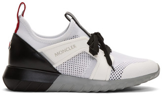 Moncler White Emilien Sneakers