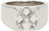 Off-White Off White Silver Arrow Ring