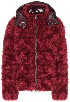 Moncler Badyp faux fur jacket