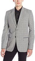 Calvin Klein Men's Slim Fit Glen Plaid Sport Coat