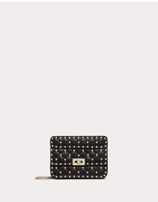 Valentino Garavani Small Rockstud Spike Nappa Leather Bag