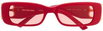 Balenciaga Eyewear Dynasty rectangular-frame sunglasses