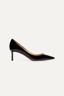 Jimmy Choo Romy 60 Patent-leather Pumps - Black