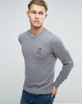 Franklin & Marshall Franklin And Marshall Knitted Crew Neck Jumper