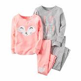 Carter's 4-pc. Fox Pajama Set - Toddler Girls 2t-5t