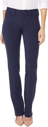 NYDJ Marilyn Straight Leg Ponte Pants