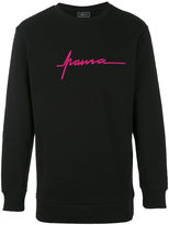 Paura logo embroidery sweatshirt - men - Cotton - S