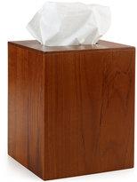 Hotel Collection Teak Tissue Holder