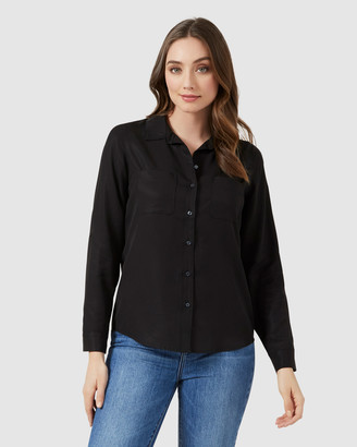 French Connection Neo Button Through Shirt