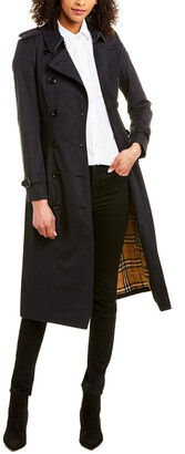 Burberry Chelsea Long-Length Heritage Trench Coat
