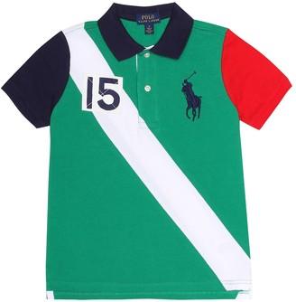Polo Ralph Lauren Kids AppliquAd cotton polo shirt