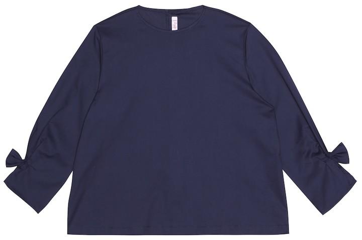Il Gufo Stretch cotton top
