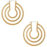 """BCBGMAXAZRIA Double Hoop Earrings-6.5"""""""