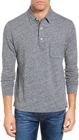 Faherty Men's Heathered Jersey Polo