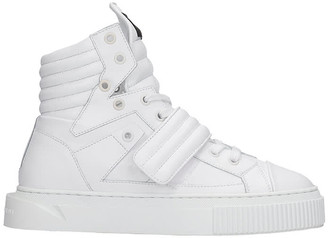Gienchi Hypnos Sneakers In White Leather
